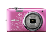 COOLPIX S2700 (pink lineart)
