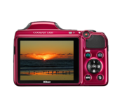 Nikon COOLPIX L820 (red) 4