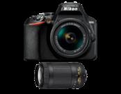 D3500 Kit AF-P 18-55VR + AF-P 70-300 VR