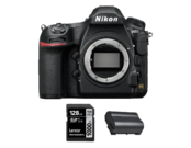 D850 body + acumulator Nikon EN-EL15b + card Lexar 128GB SDXC 150MB/s