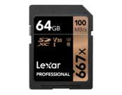 64GB SDXC CLS10 UHS-I 100MB/s citire, 90MB/s scriere