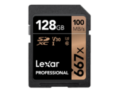 128GB SDXC CLS10 UHS-I 100MB/s citire, 90MB/s scriere