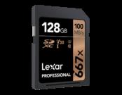 Lexar 128GB SDXC CLS10 UHS-I 100MB/s  1