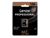 Lexar 128GB SDXC CLS10 UHS-I 100MB/s  2