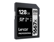 Lexar 128GB SDXC CLS10 UHS-II 250MB/s citire, 90MB/s scriere 1