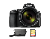 COOLPIX P950 + geanta Nikon + card SDHC