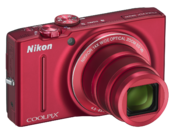 Nikon COOLPIX S8200 (red) 4