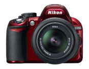 Nikon D3100 kit 18-55mm VR (red) 0