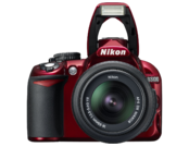 Nikon D3100 kit 18-55mm VR (red) 1