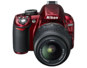 Nikon D3100 kit 18-55mm VR (red) 2