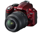 Nikon D3100 kit 18-55mm VR (red) 3