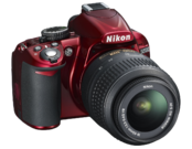 Nikon D3100 kit 18-55mm VR (red) 4