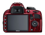 Nikon D3100 kit 18-55mm VR (red) 5