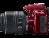 Nikon D3100 kit 18-55mm VR (red) 6