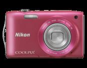 Nikon COOLPIX S3300 (pink) 1