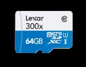 MicroSDXC 64GB CLS10 UHS-I 45MB/s + adaptor SD