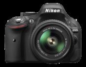 D5200 kit 18-55mm VR II (black)