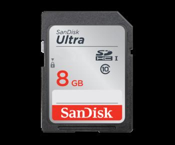 8GB SDHC Ultra CLS10 40MB/s