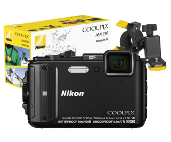 COOLPIX WATERPROOF AW130 Outdoor Kit (black)