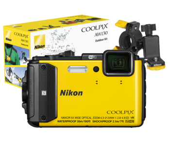 COOLPIX WATERPROOF AW130 Outdoor Kit (yellow)