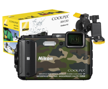 COOLPIX WATERPROOF AW130 Outdoor Kit (camouflage)