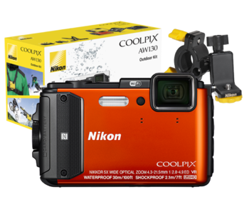 COOLPIX WATERPROOF AW130 Outdoor Kit (orange)