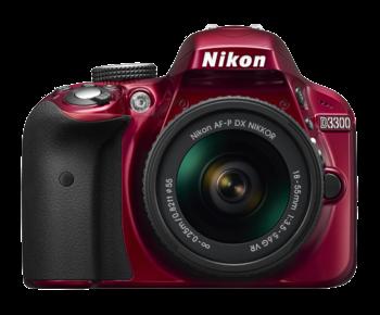D3300 Kit AF-P 18-55mm VR (red)