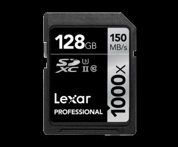 128GB SDXC CLS10 UHS-II 150MB/s