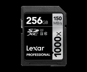 256GB SDXC CLS10 UHS-II 150MB/s