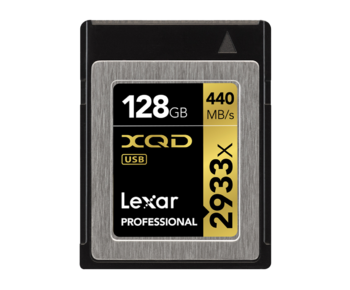Professional XQD 128GB 2933X