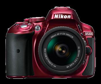 D5300 Kit AF-P 18-55mm VR (red)