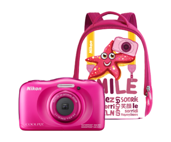 COOLPIX WATERPROOF W100 backpack kit (pink)