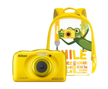 COOLPIX WATERPROOF W100 backpack kit (yellow)