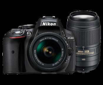D5300 Dual Zoom Kit (AF-P 18-55 VR + 55-300 VR)