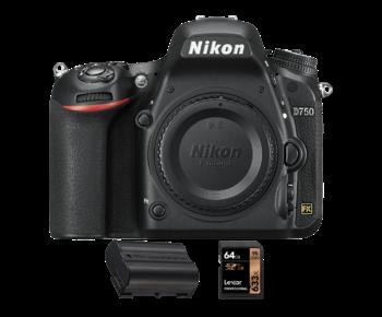 D750 body + acumulator Nikon EN-EL15 + card Lexar 64GB SDXC 95MB/s