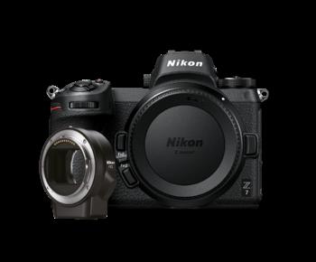 Nikon Z7 body + FTZ