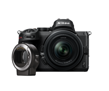 Nikon Z5 kit 24-50mm + FTZ