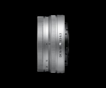 Z DX 16-50mm f/3.5-6.3 VR NIKKOR silver