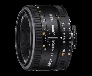 50mm f/1.8D AF NIKKOR