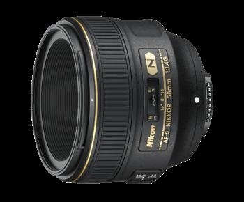 58mm f/1.4G AF-S NIKKOR