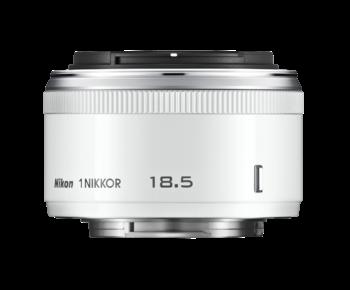 1 NIKKOR 18.5mm f/1.8 (white)