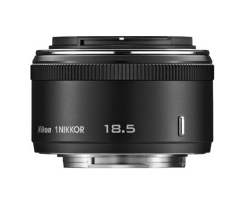 1 NIKKOR 18.5mm f/1.8 (black)