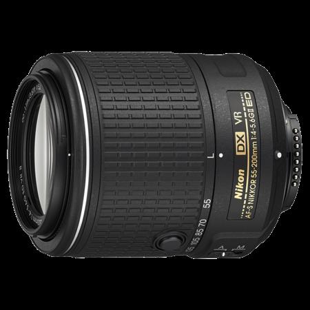 Nikon 55-200mm f/4-5.6G ED AF-S DX VR II NIKKOR