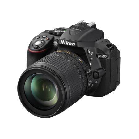 Nikon D5300 kit 18-105mm VR (black)
