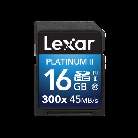 Lexar 16GB SDHC CLS 10 UHS-I 45MB/s