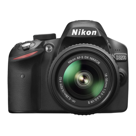 Nikon D3200 kit 18-55mm VR II (black)