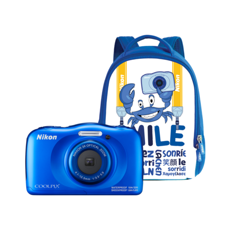 Nikon COOLPIX WATERPROOF W100 backpack kit (blue)