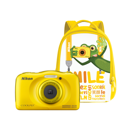 Nikon COOLPIX WATERPROOF W100 backpack kit (yellow)