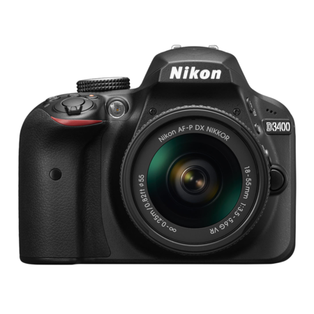 Nikon D3400 Kit AF-P 18-55mm VR (black)