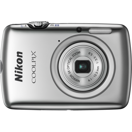 Nikon COOLPIX S01 (silver)